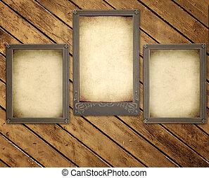 木製である, 写真, 古い, 板