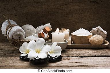 木製である, 効果, aromatherapy, プロダクト, 背景, エステ