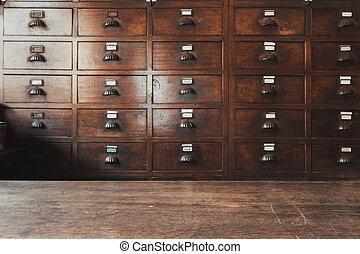 木製である, 医学, 草, 薬, ∥あるいは∥, ハーブ, 骨董品, 食器棚, 乾かされた, 店, 店, 中国語, 貯蔵