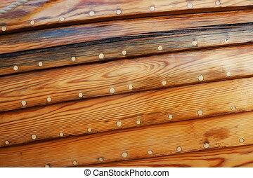 木製である, 古い, グランジ, 背景