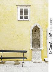 木製である, 古い, ドア,  Sintra
