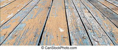 木製である, 古い, 手ざわり