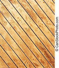 木製である, 古い, 板, 手ざわり