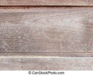 木製である, 古い, texture., 背景