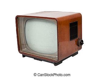 木製である, 型, テレビ, 古い
