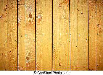 木製である, 外気に当って変化した, フェンス, 手ざわり
