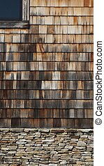 木製である, 屋根板, 石, 2