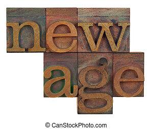 木製である, 新しい年齢, タイプ