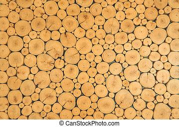 木製である, 木材を伐採する, 背景