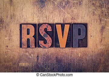 木製である, 概念, タイプ, 凸版印刷, rsvp