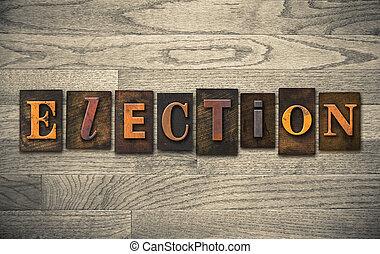 木製である, 概念, 選挙, 凸版印刷