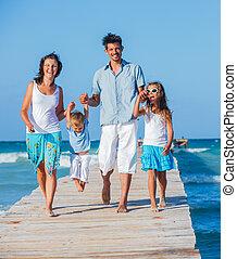 木製である, 歩くこと, 突堤, 家族