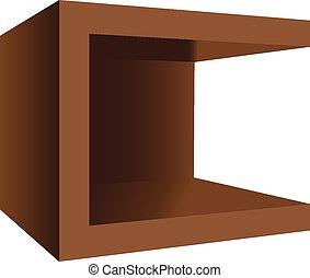 木製である, 現代, nightstand, 広場