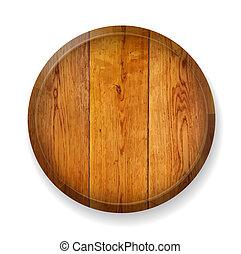 木製である, 現実的, board., ラウンド
