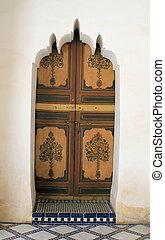 木製である, 石, 2, ドア, 彫刻