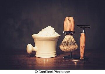 木製である, 紳士, 板, 贅沢, 付属品