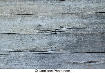 木製である, 背景
