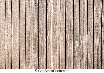 木製である, 表面