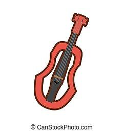 木製である, 道具, バイオリン, 漫画, 音楽