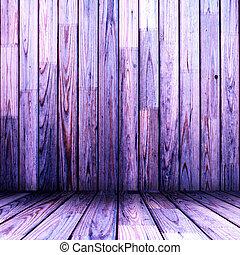 木製である, 部屋, すみれ