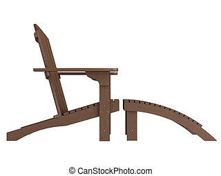 木製である, chaise の ラウンジ