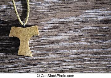 木製である, tau, ペンダント