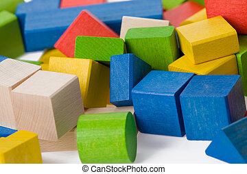 木製のおもちゃ, ブロック