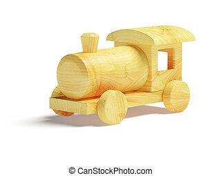 木製のおもちゃ, 列車