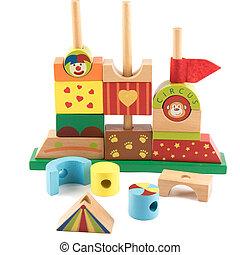 木製のおもちゃ, 城