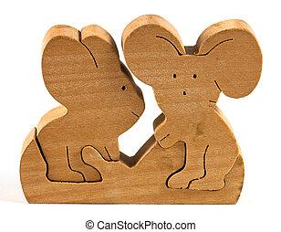 木製のおもちゃ, 折りたたみ