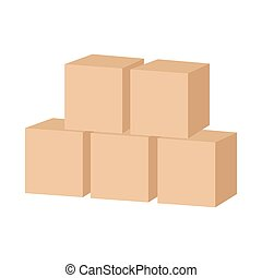 木製のおもちゃ, 立方体