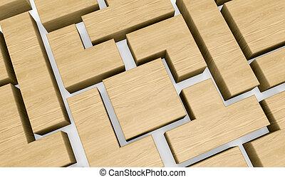木製のブロック, 困惑