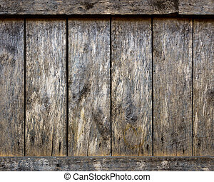 木製の壁, 手ざわり