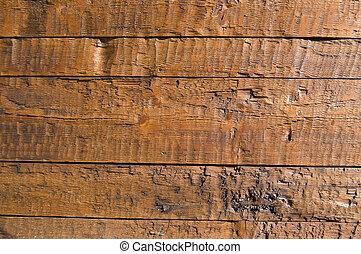 木製の壁, 板
