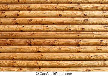 木製の家, 木材を伐採する