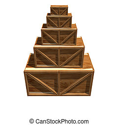 木製の木枠