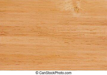 木製の机, 手ざわり