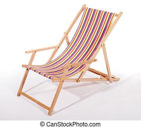 木製の椅子, デッキ