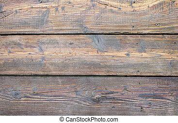 木製の肉質, 床
