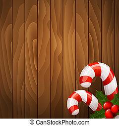 木製の茎, キャンデー, 背景