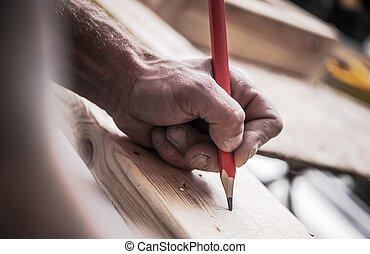 木製品, 工作, 木匠