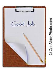 木製的板, 寫
