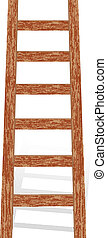 木製的階梯