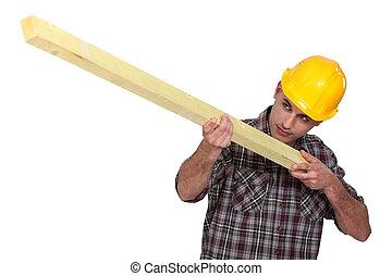 木頭, 工人