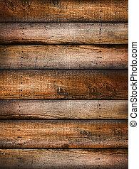 木頭, 松樹, 背景, textured
