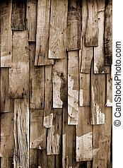 木頭, 老, 背景