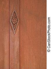 木頭, 雕刻品, #3
