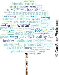 木, エコロジー, 単語, 冬, 雲