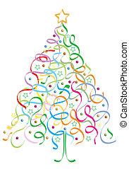 木, クリスマス, 幸せ