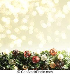 木, クリスマス, 背景